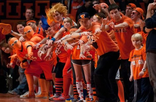Fighting Illini Orange Krush
