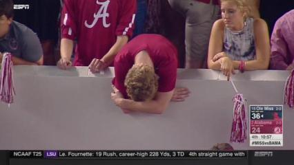 Bama fans crying