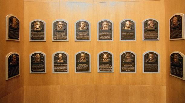 Baseball Hall of Fame plaques