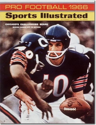 Rudy Bukich, Gale Sayers: Chicago Bears Football September 12, 1966 X 11117 credit: Neil Leifer - assign