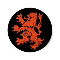 Dutch Lion black and orange