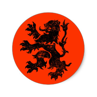 Dutch Lion orange and black