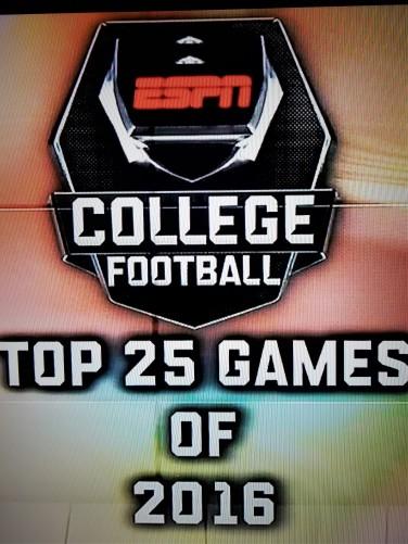 ESPN's Top 25 Games of 2016