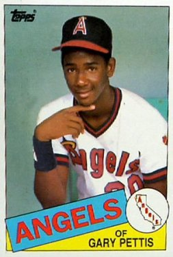 Gary Pettis baseball card