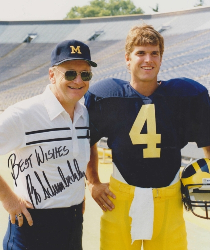 Schembechler and Harbaugh