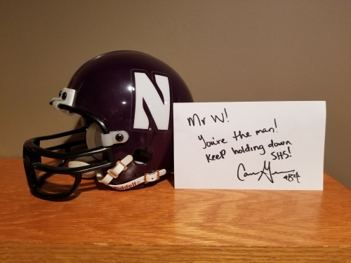 Cam Green's autograph
