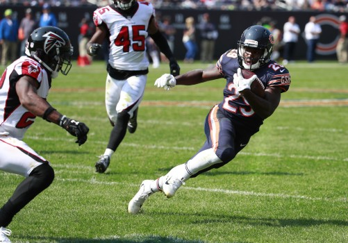 Tarik Cohen vs Falcons