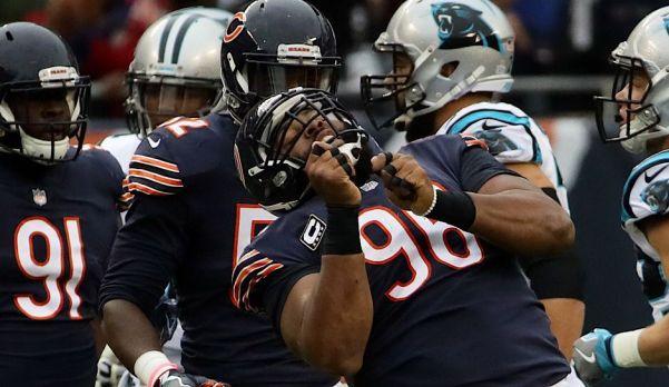 Bears defense vs Panthers
