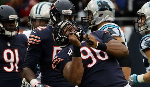 Bears defense vs Panthers