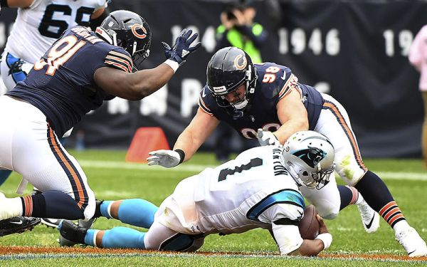 Eddie Goldman vs Panthers