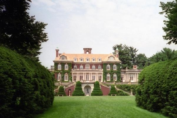 lavish estate grounds