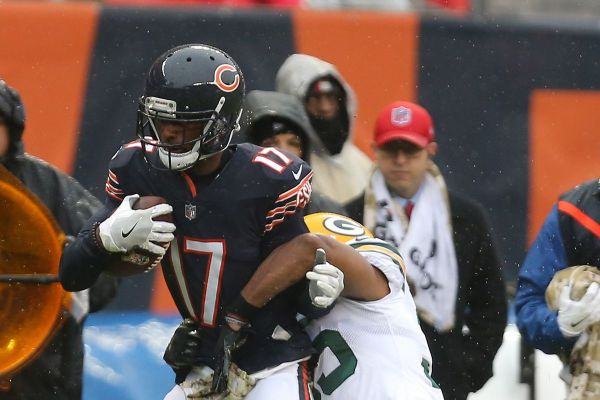 Dontrelle Inman vs Packers