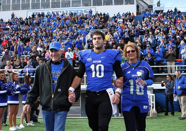Jimmy Garoppolo at Eastern Illinois