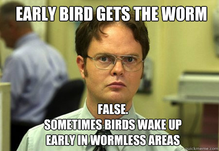The Office early bird