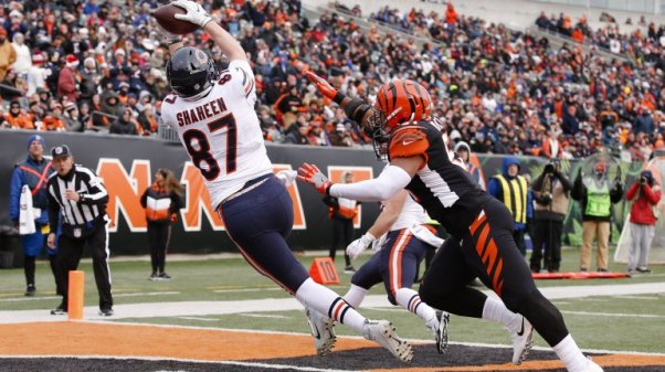Adam Shaheen at Bengals2