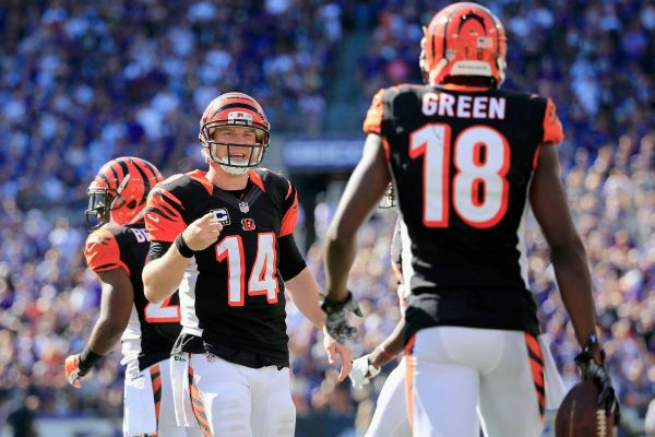 Andy Dalton and A.J. Green