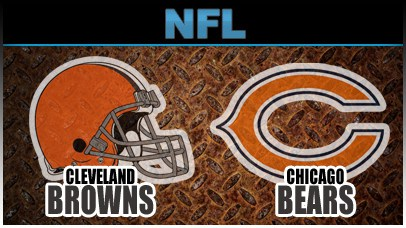 Bears vs Browns logos