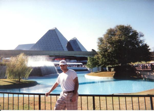 Brad Bush at Epcot