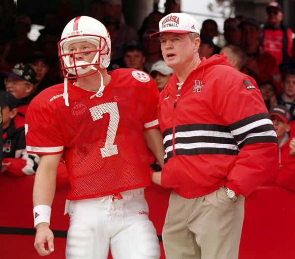 Scott Frost with Coach Tom Osborne