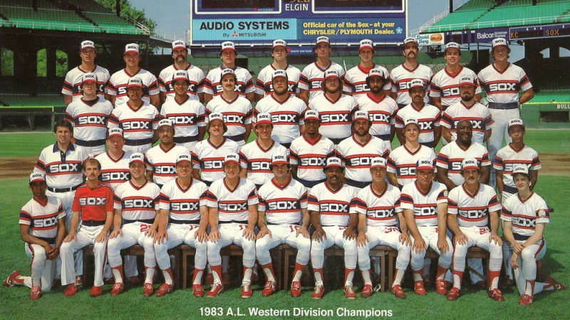 1983 White Sox team photo