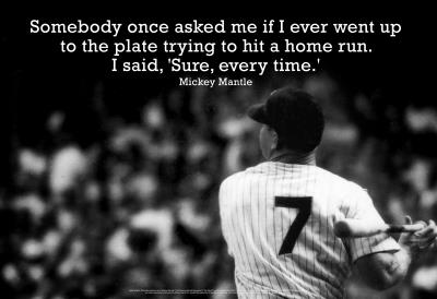 Mickey Mantle Quote #1a
