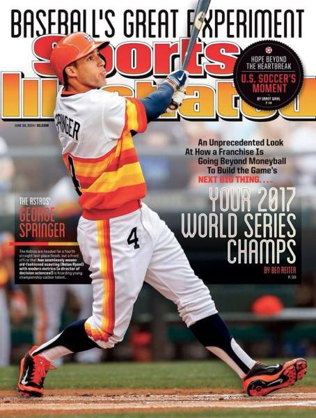 Sports Illustrated's Astros World Series prediction from 2014