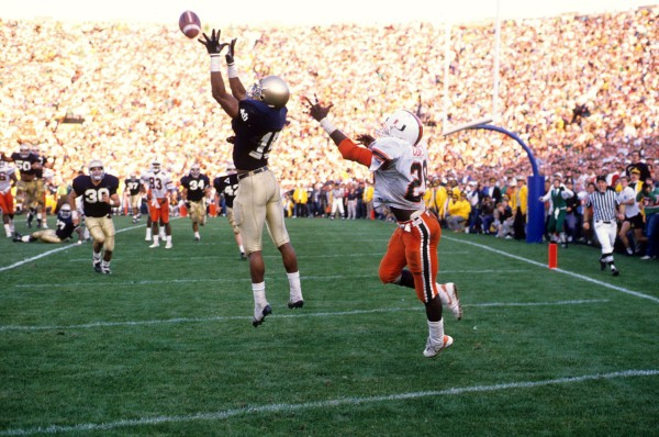 University of Notre Dame vs University of Miami