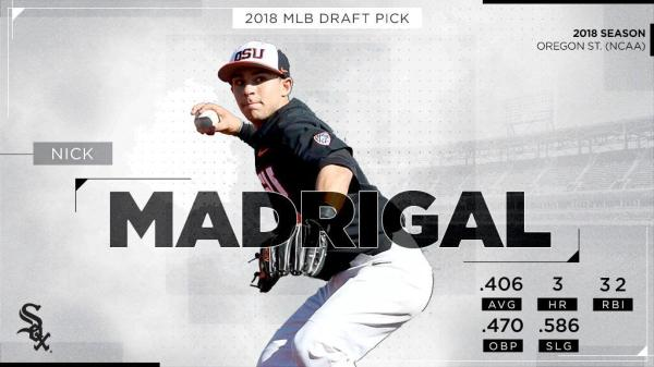 Nick Madrigal White Sox Draft Pick