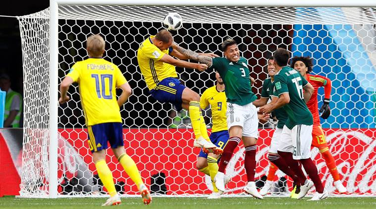 Sweden vs Mexico 2018 World Cup