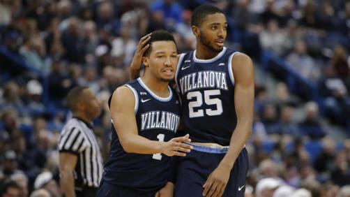 Jalen Brunson and Mikal Bridges Villanova