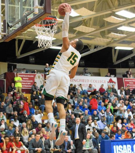 Jalen Brunson Stevenson dunking