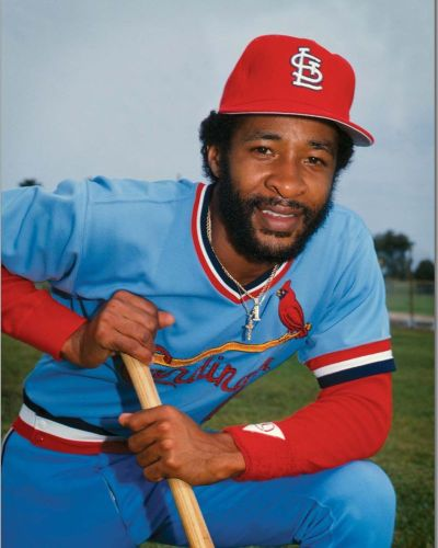 St. Louis Cardinals powder blue Ozzie Smith