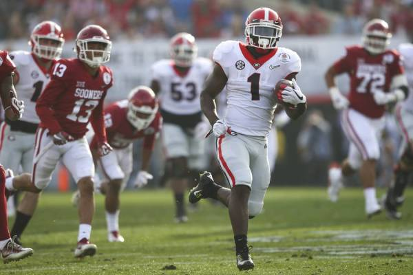 2018 Rose Bowl Sony Michel