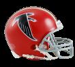 Falcons red helmet