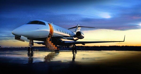 Gary's Private Jet