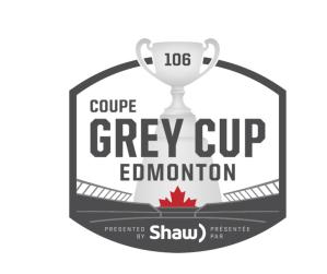 Grey Cup 106 Edmonton logo