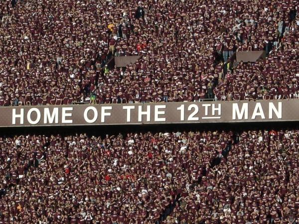 Texas A&M's 12th Man