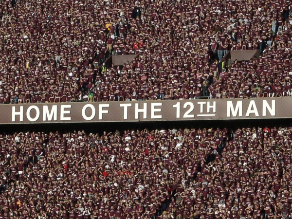 Texas A&M's 12th Man