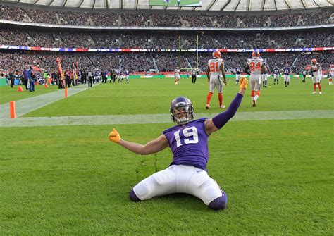 Vikings celebrating