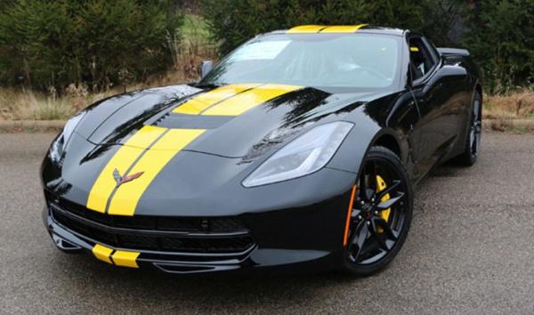 Gary's Corvette