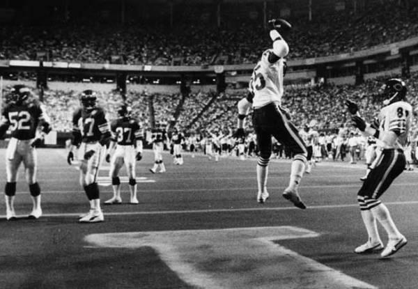 Dennis McKinnon at Vikings 1985