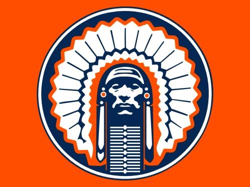 Illinois Fighting Illini Chief Logo