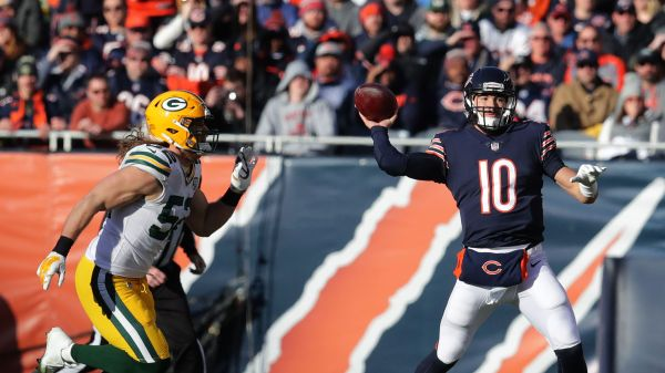 Mitch Trubisky vs Packers 2018