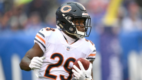 Tarik Cohen at NY Giants