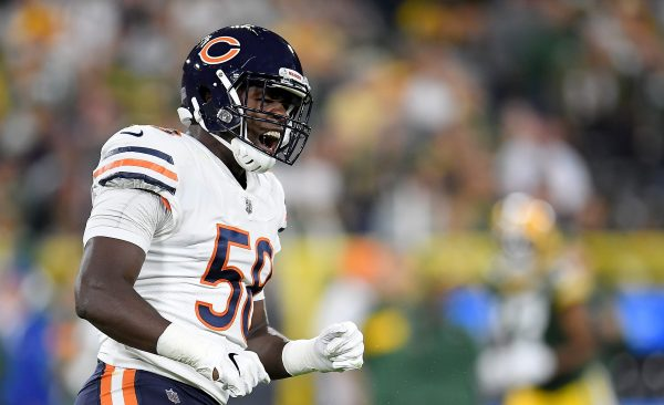 Roquan Smith at Packers 2018