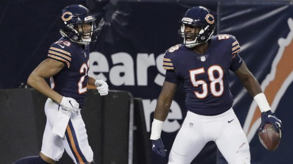 Roquan Smith Playoffs vs Eagles