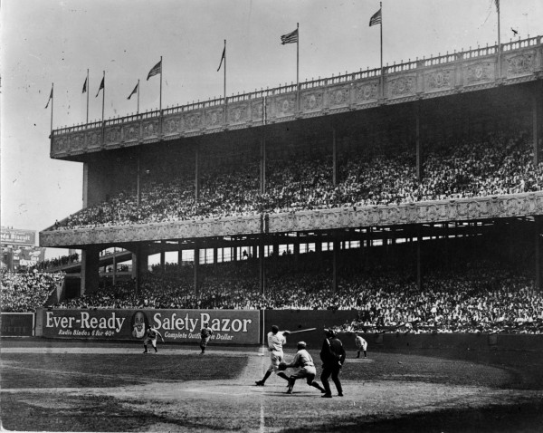 Babe Ruth at Polo Grounds