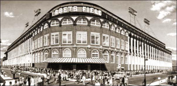 Ebbets Field exterior 1955