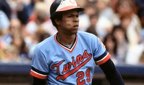 Minnesota Twins powder blues Rod Carew