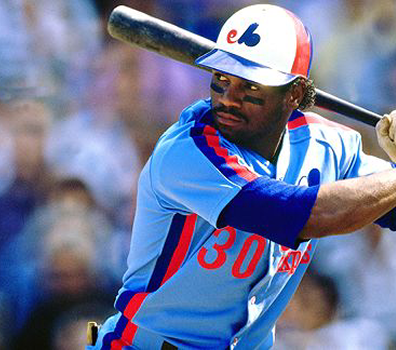 Montreal Expos powder blue Tim Raines